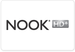 NOOK HD+ Logo