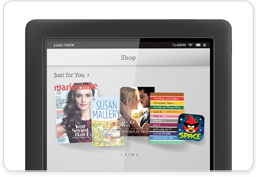 Shop Screen on NOOK HD+