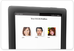 NOOK Profiles on NOOK HD+