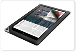 Fast Page Turn on NOOK HD+
