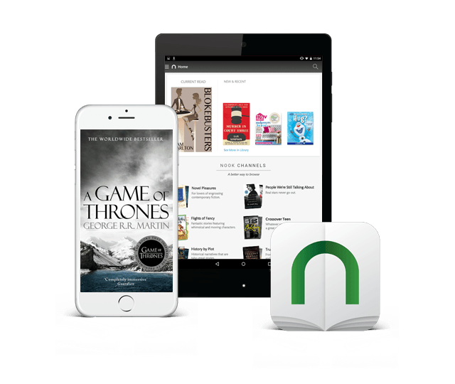 Image: New Improved NOOK App